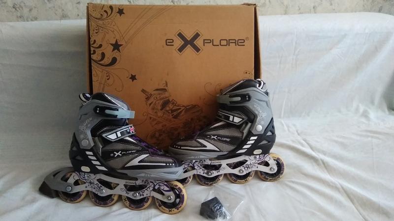 Ролики eXplore размер 38-41 Роликовые коньки размер 38-41