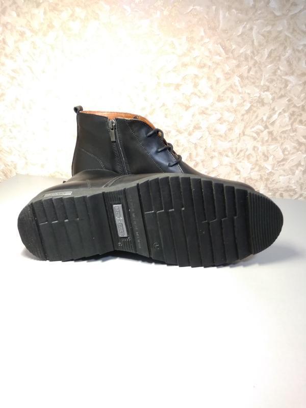 Классические зимние ботинки - натуральная кожа! - Фото 6