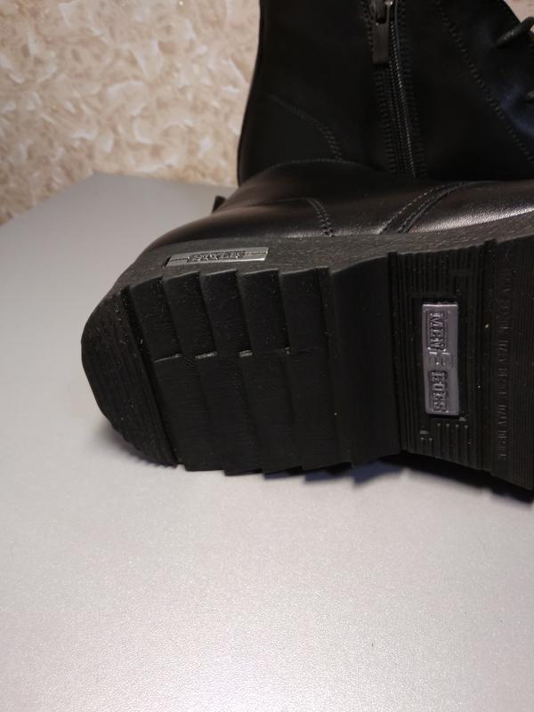 Классические зимние ботинки - натуральная кожа! - Фото 7