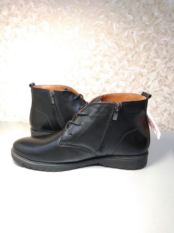 Классические зимние ботинки - натуральная кожа! - Фото 8