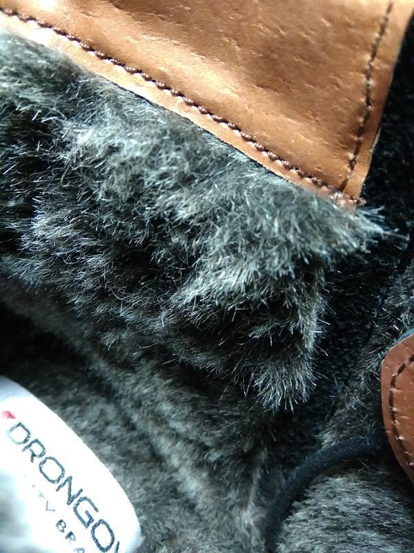 Классические зимние ботинки - натуральная кожа! - Фото 9