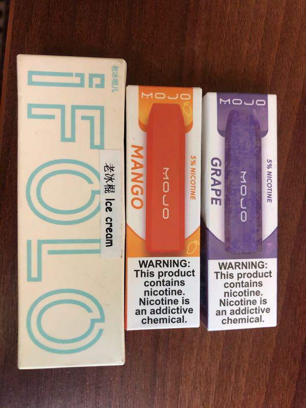 Одноразовая электронная сигарета mojo где в питере купить дешевые сигареты