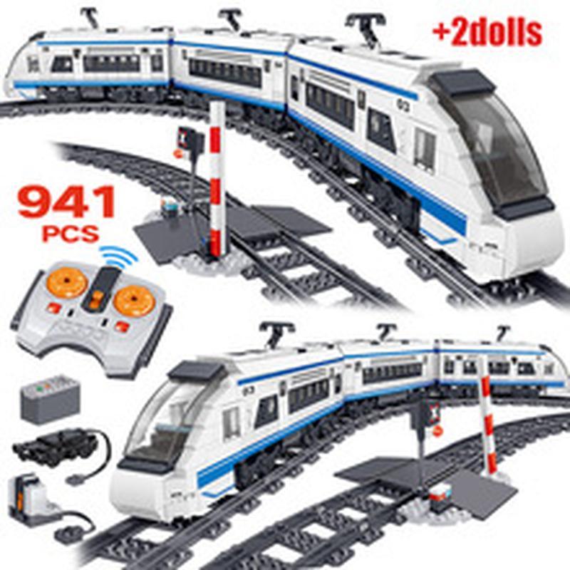 Конструктор Поїзд на радіокеруванні QL 0310, 941 деталь на IZI.ua (7876811)