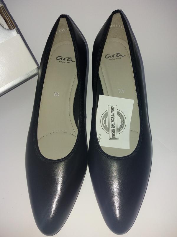 Ara германия удобные кожаные туфли. размер 41,5 - Фото 3