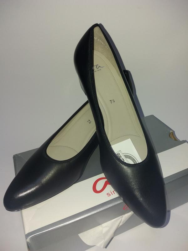 Ara германия удобные кожаные туфли. размер 41,5 - Фото 4