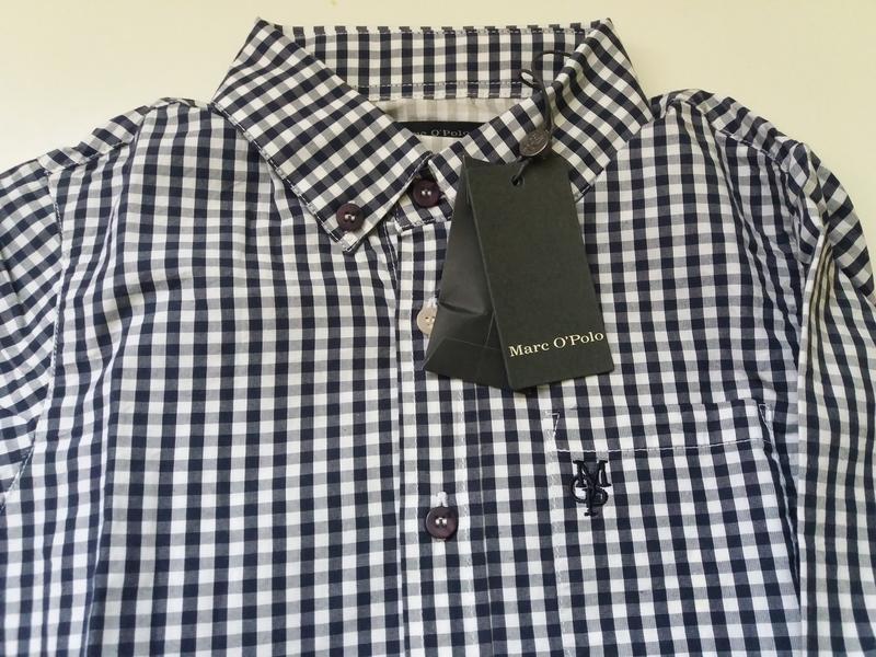 Marc o' polo рубашка. рост 128. качественный хлопок