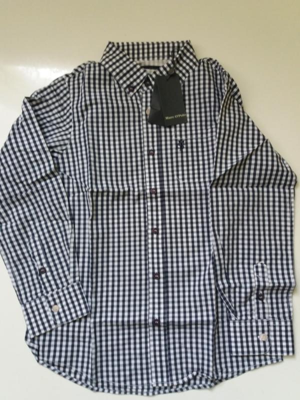 Marc o' polo рубашка. рост 128. качественный хлопок - Фото 5