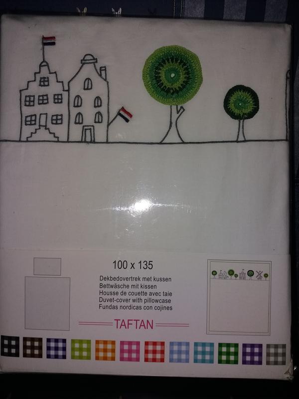 Taftan голландия. постельный комплект для кроватки 100 на 135. - Фото 3
