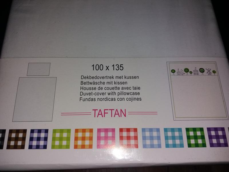Taftan голландия. постельный комплект для кроватки 100 на 135. - Фото 4
