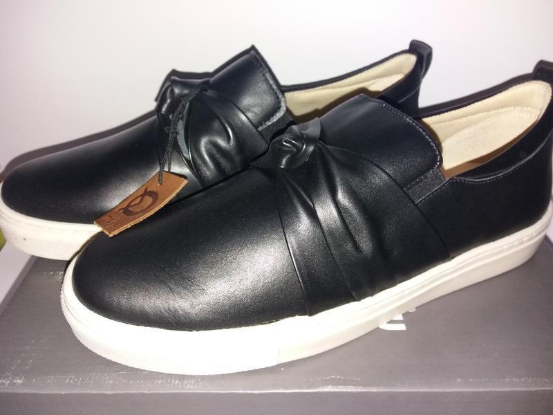 Move by melton дания кожаные туфли, сникерсы. размер 38