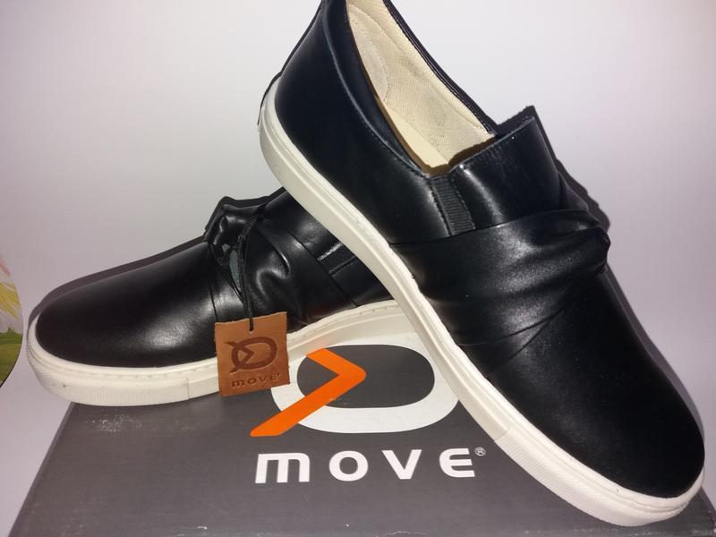 Move by melton дания кожаные туфли, сникерсы. размер 38 - Фото 3
