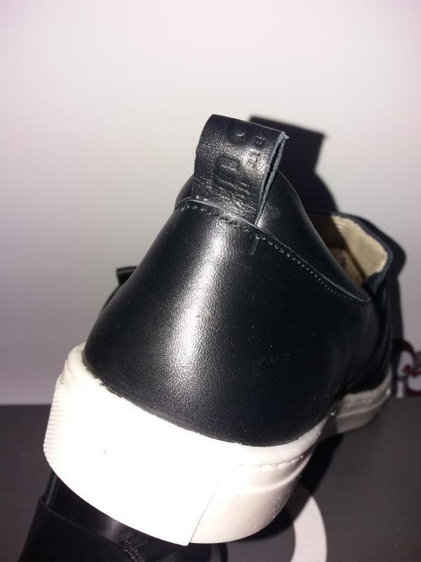 Move by melton дания кожаные туфли, сникерсы. размер 38 - Фото 4