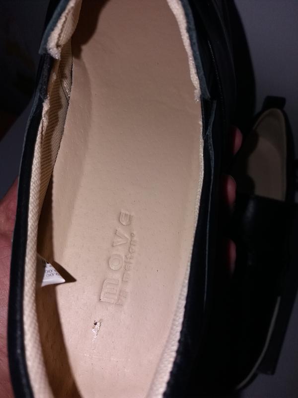 Move by melton дания кожаные туфли, сникерсы. размер 38 - Фото 5
