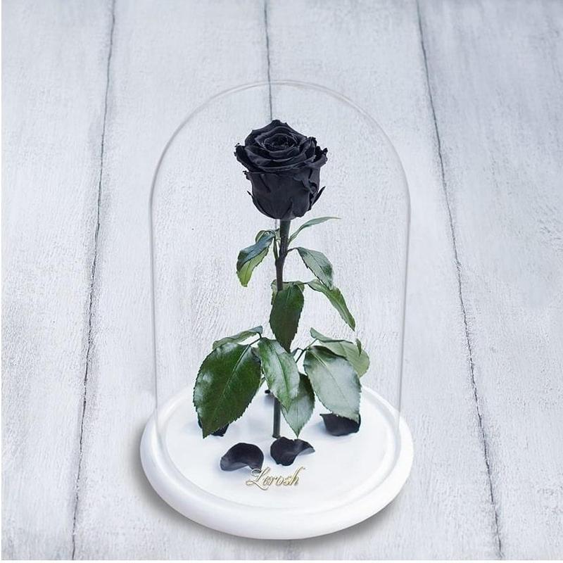 Великолепный подарок для женщин Невянущая роза  Lerosh 33см чё...