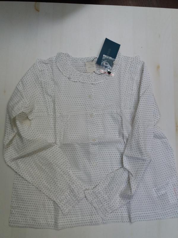 Gocco батистовая блуза. 11-12 лет. топ качество - Фото 2