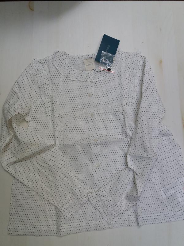 Gocco батистовая блуза. 11-12 лет. топ качество - Фото 6