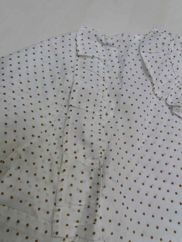 Gocco батистовая блуза. 11-12 лет. топ качество - Фото 10