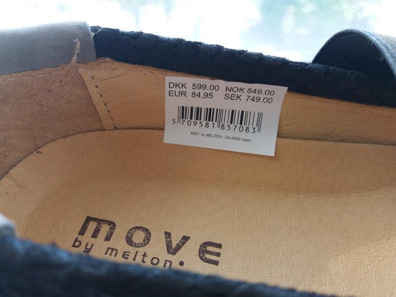 Move дания. туфли кожаные.  29 размер. - Фото 7