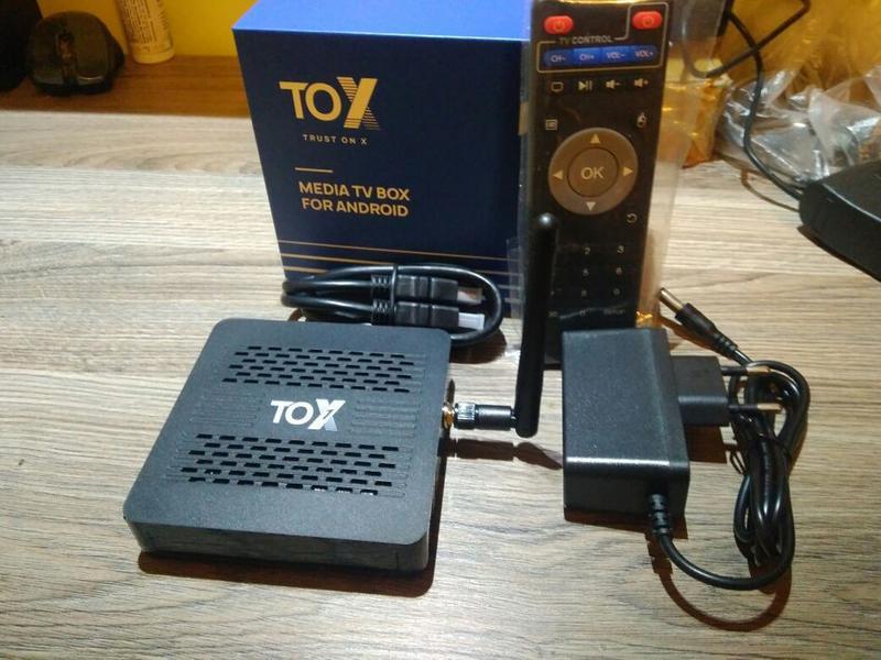 Супер Новинка Tox1 - Smart Android Tv box
