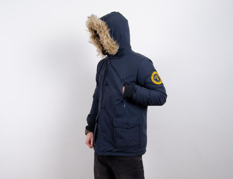 Superdry rescue parka пуховик пуховая парка зимняя куртка