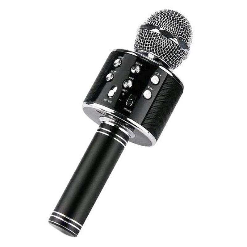 Микрофон караоке со встроенной колонкой ws-858