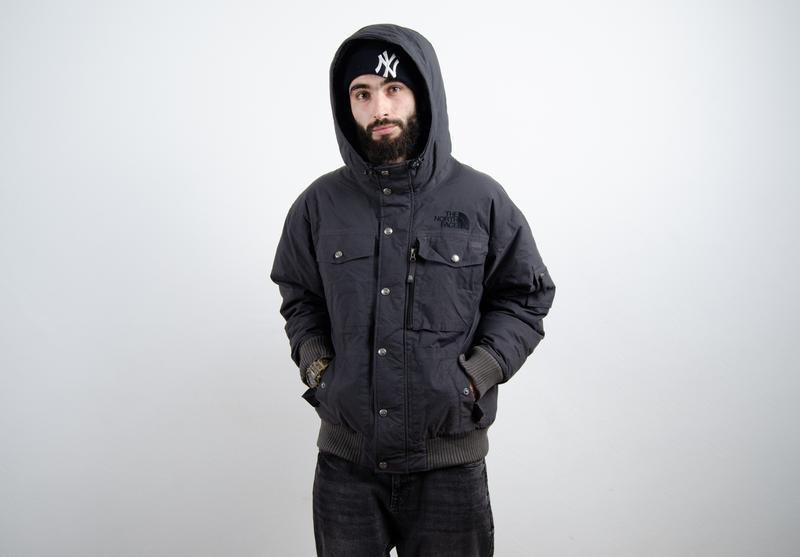 The north face gotham пуховик зимняя пуховая куртка - Фото 3