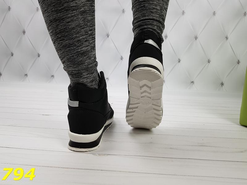 Ботинки зимние на шнуровке - Фото 3