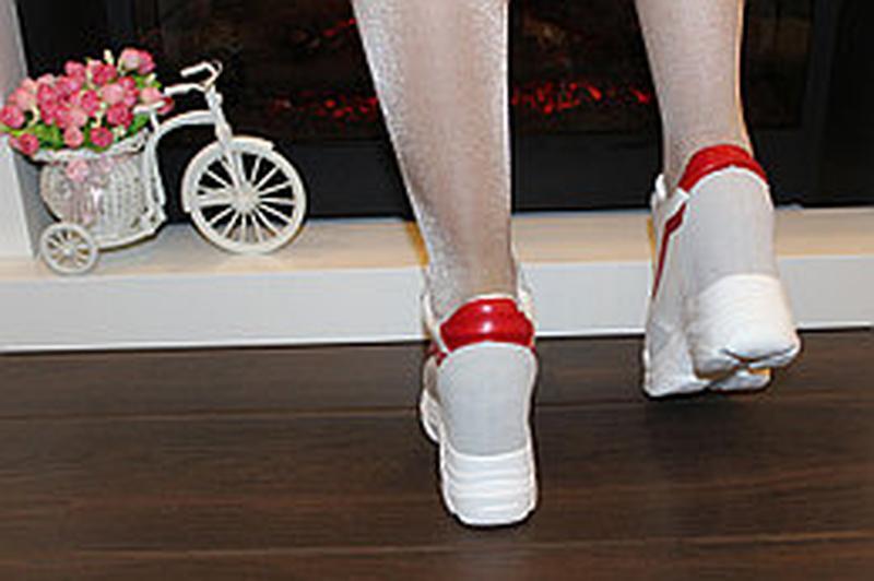 Кроссовки на платформе ✨польша - Фото 6