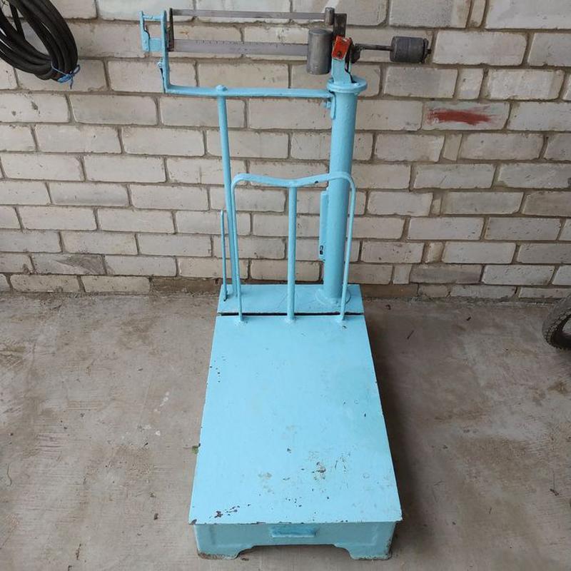 Весы 10-200 кг механические платформенные ссср