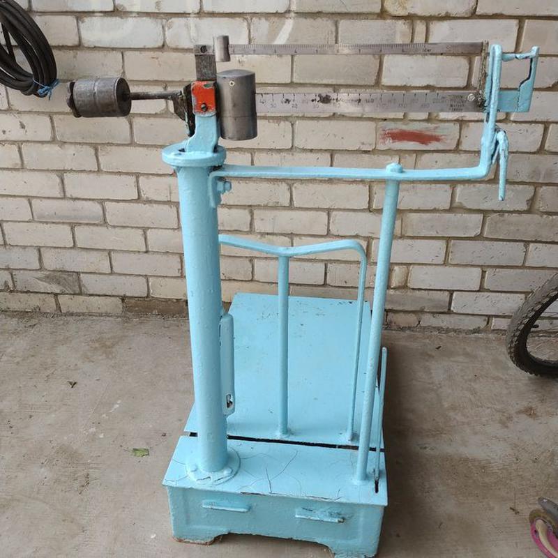 Весы 10-200 кг механические платформенные ссср - Фото 2