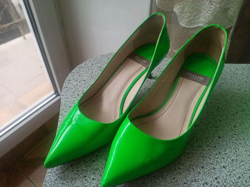 Fellini туфли - лодочки+сумочка - Фото 5
