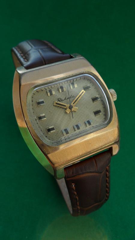 Часы «РАКЕТА_БЕЙКЕР» ссср 70-х. поЗОЛОЧЕННЫЕ мужские МЕХАНИКА - Фото 5