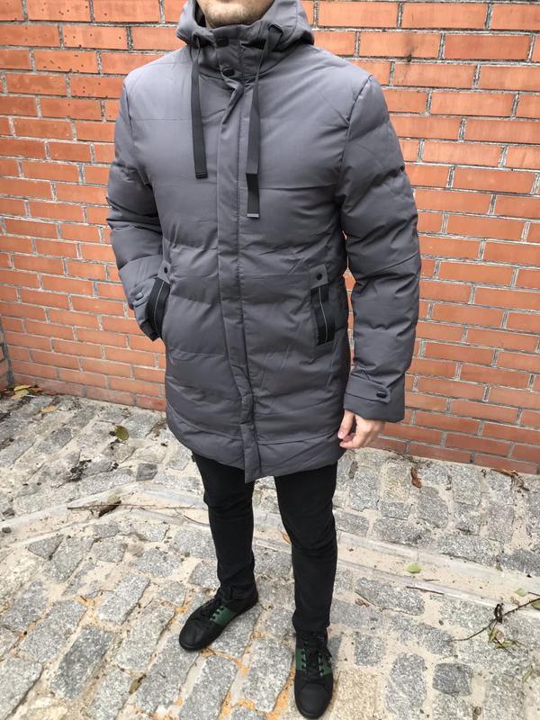 Новинка! зимняя мужская куртка пуховик / зимова чоловіча куртк...