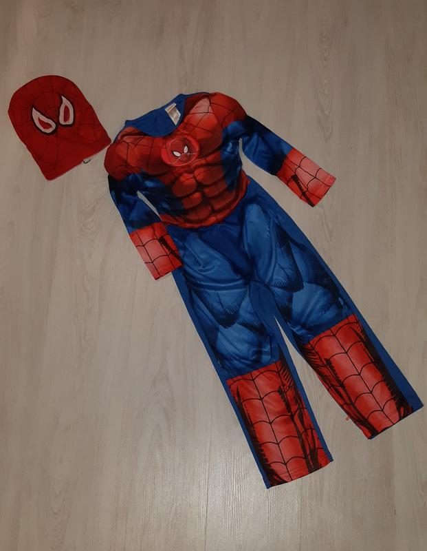 Карнавальный костюм спайдермена человека паука marvel