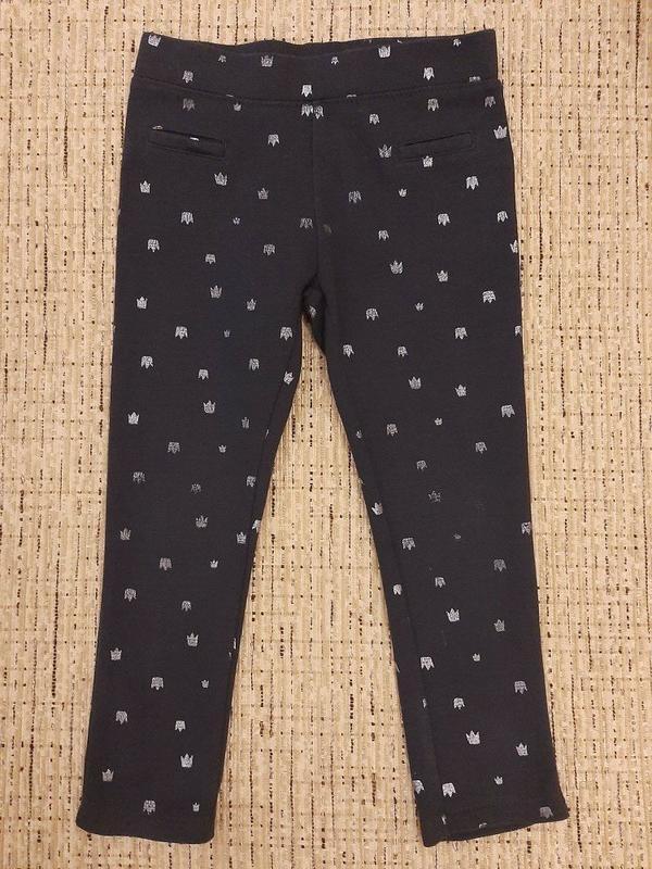Штаны брюки джеггинсы джинсы лосины двунитка плотные