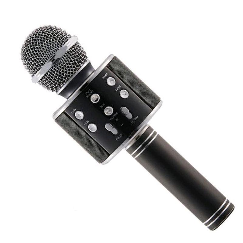 Микрофон WS-858 WSTER BLACK. Цвет: черный - Фото 4