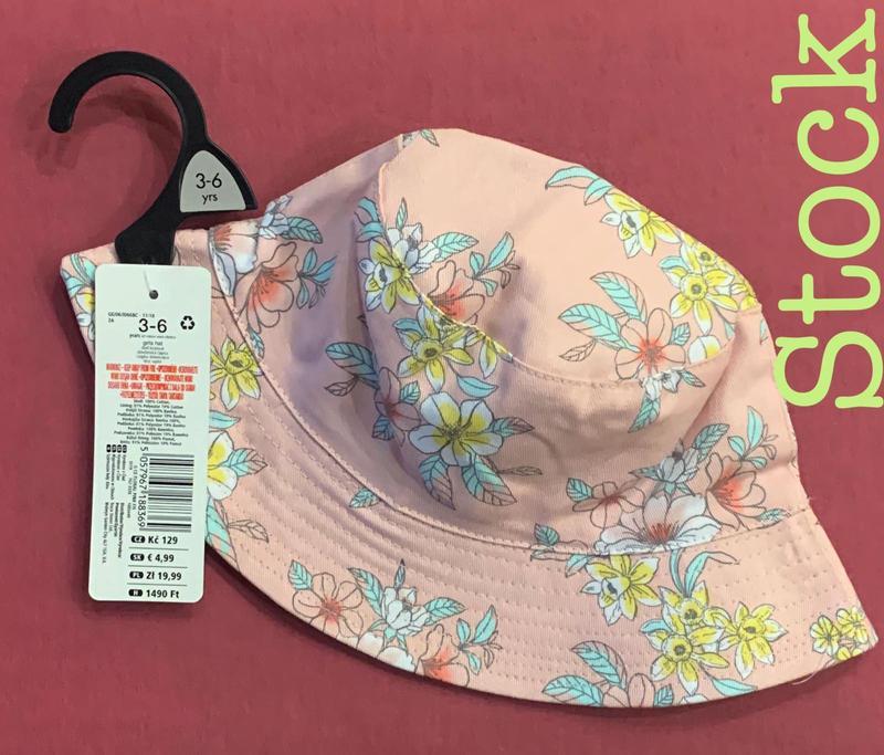 Панамка шляпка для девочки 1/2 года