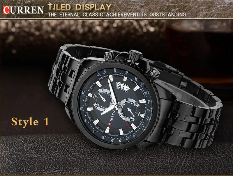 Мужские часы  Curren 8082