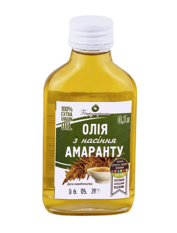 Амарантовое масло (100мл)