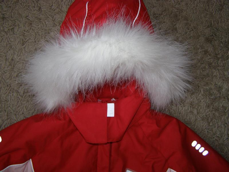 Reima куртка для девочки рост 122