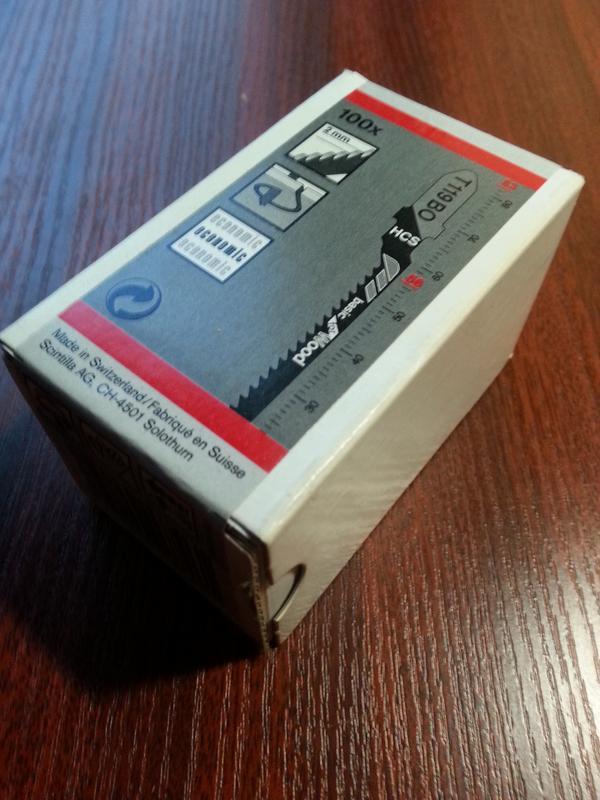 Пилка для электро лобзика  T119BO - Фото 2