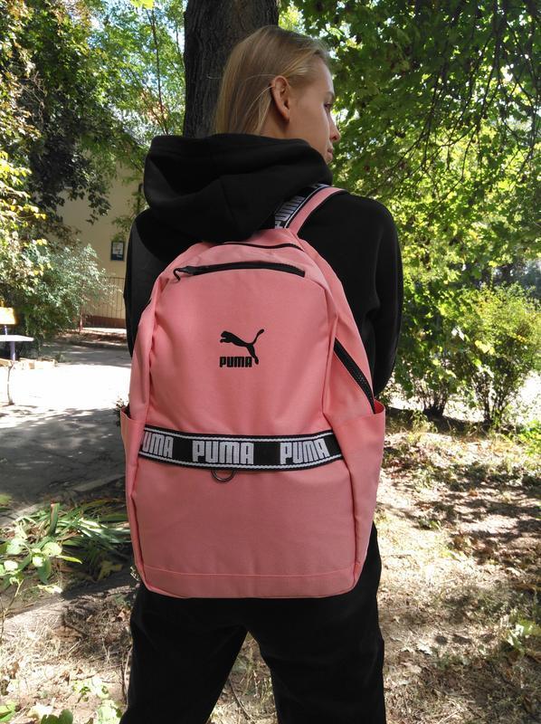 Рюкзак puma оригинал нежно розового цвета (есть черный)