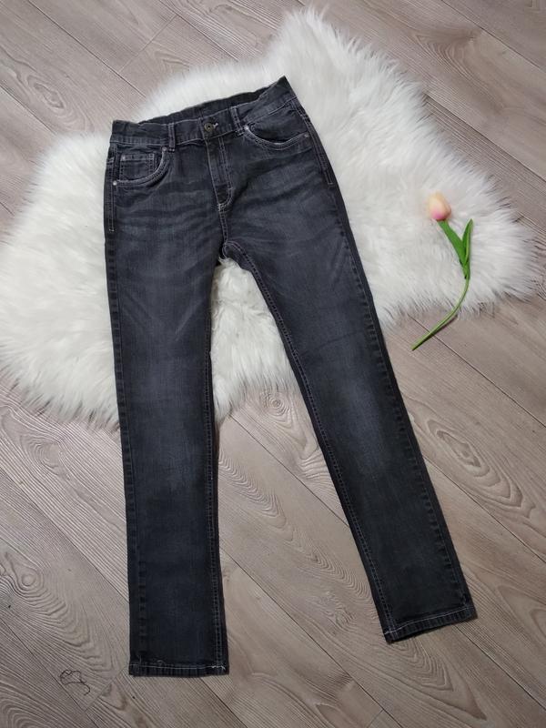 Штаны джинсы на девочку девочке бойфренды прямого кроя стрейче...