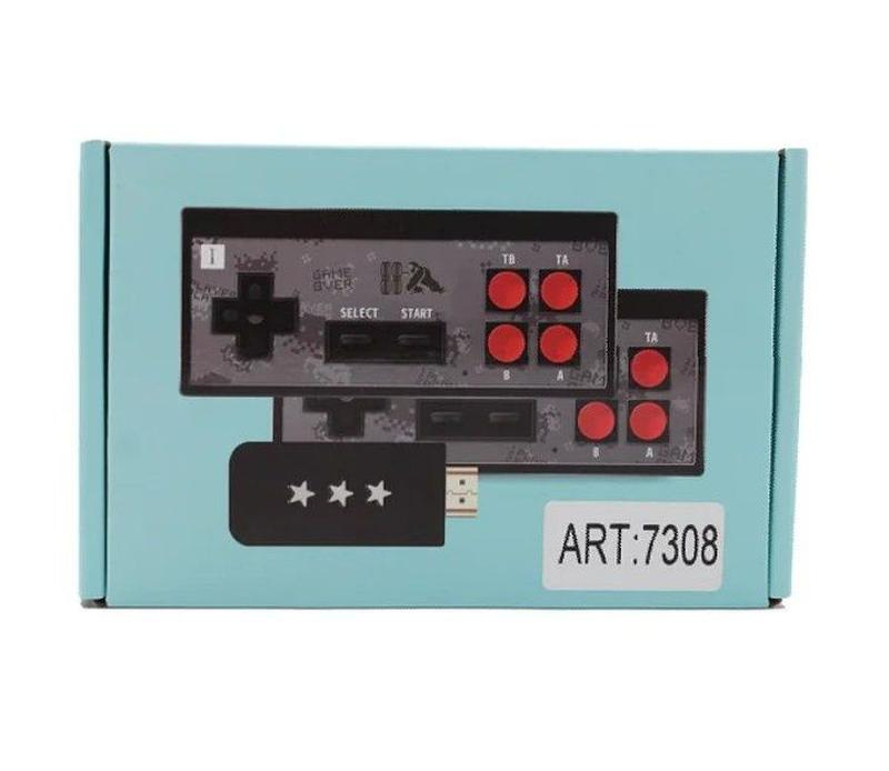 Игровая приставка на 620 игр с беспроводными джойстиками (конс... - Фото 2