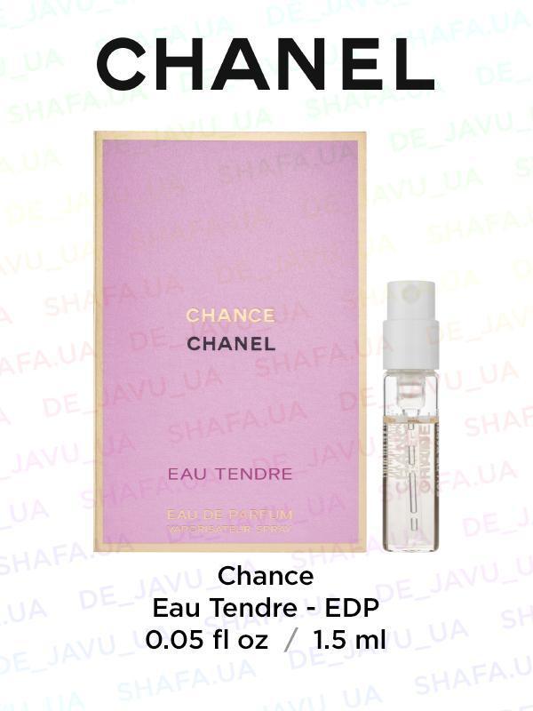 Пробник парфюма chanel chance