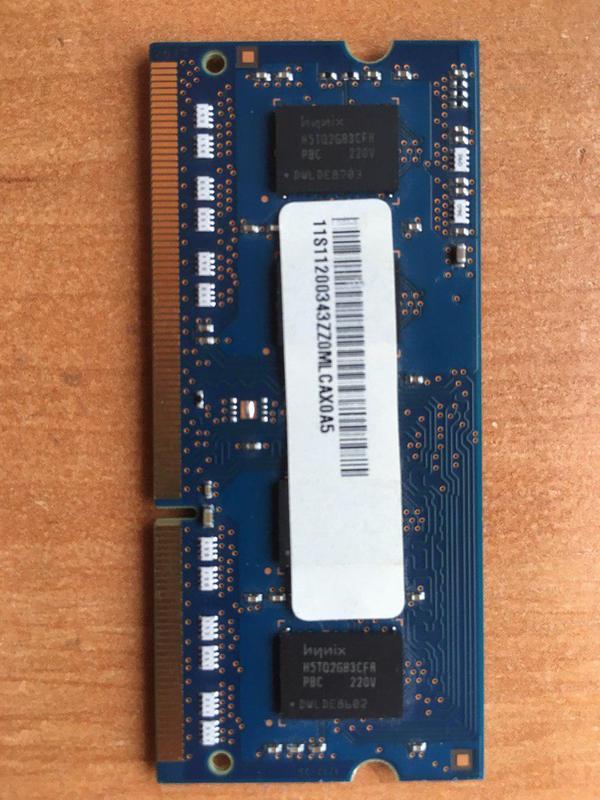Hynix SO-DIMM DDR3 2GB 1600 MHz(для ноутбука)