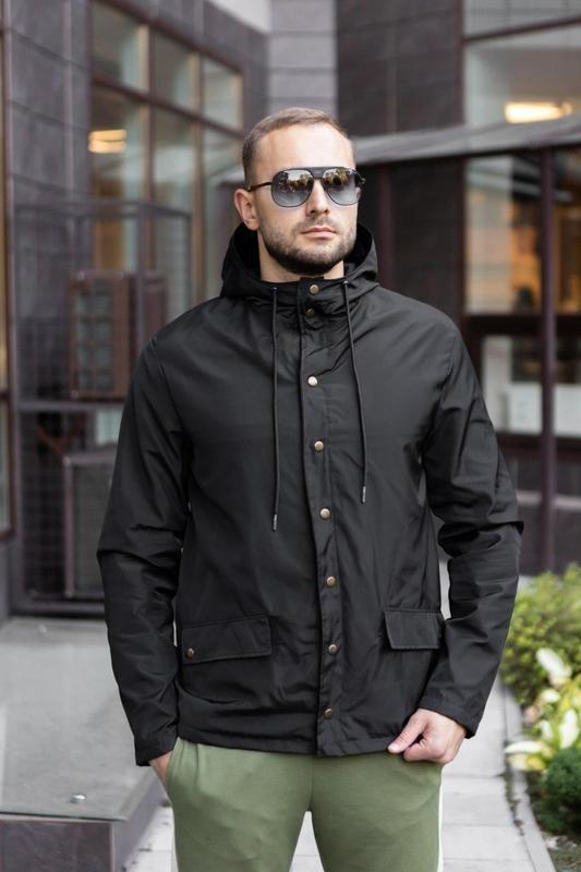 Мужская осенняя куртка - Фото 4