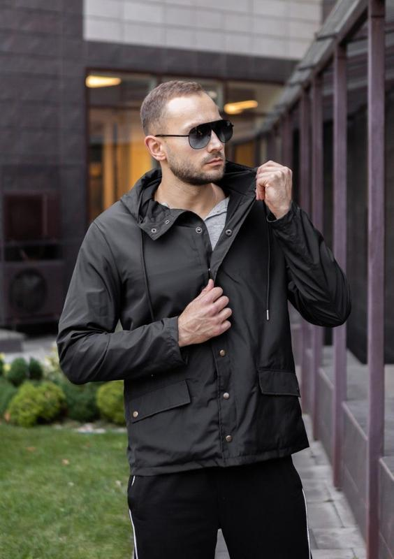 Мужская осенняя куртка - Фото 5