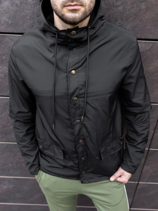 Мужская осенняя куртка - Фото 9
