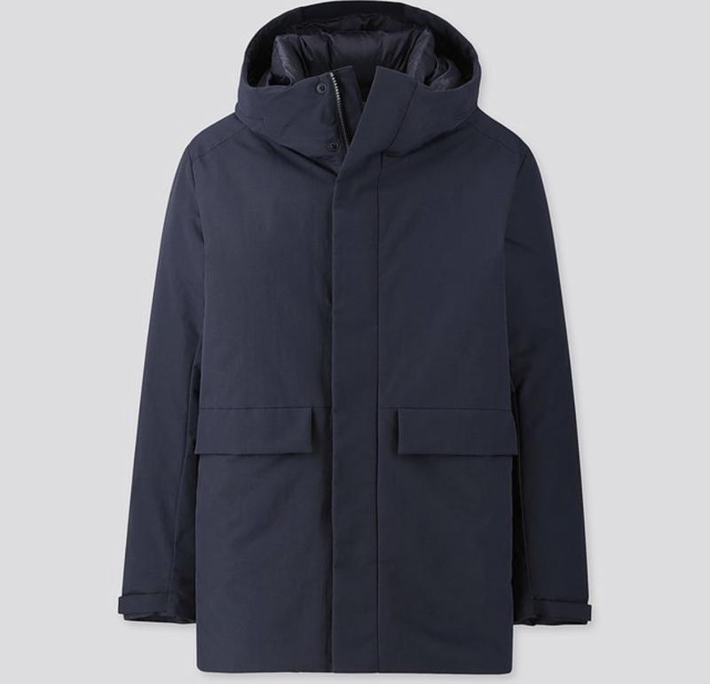 Куртка гибридный пуховик uniqlo